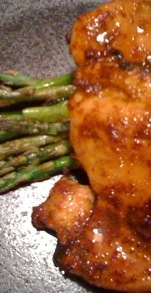 Spiced Honeyed Chicken Thighs